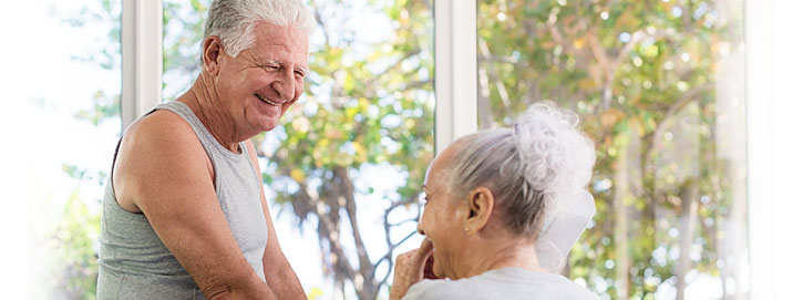 decrease fall risk and improve health related quality of life of nursing home residents