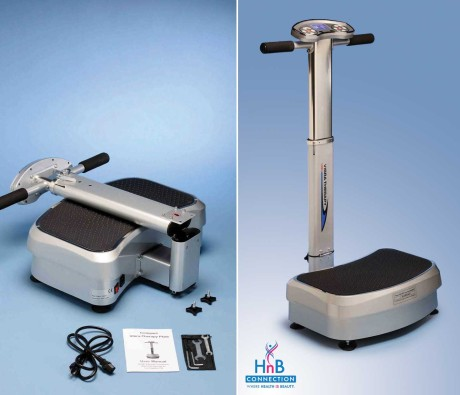 compact vibra therapy machine silver HnB Connection health beauty