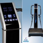 platinum vibra therapy machine silver HnB Connection health beauty connection