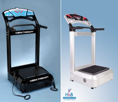 professional vibra therapy machine black white by HnB Connection healthy beauty connection