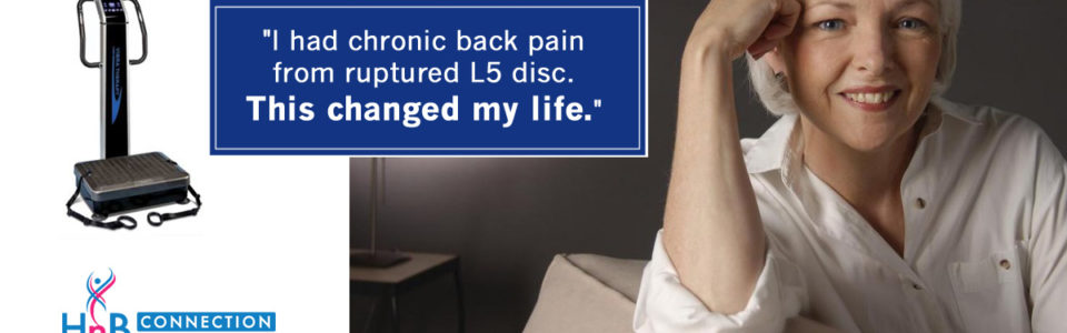 """I had chronic back pain from ruptured L5 disc. This changed my life."""