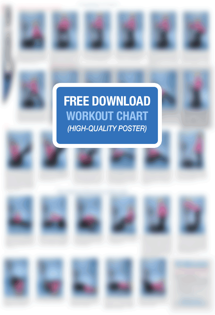 Workout Chart For Vibration Therapy Machines Health Beauty