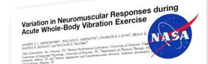 NASA Case Study on Vibration Therapy by HnB Connection