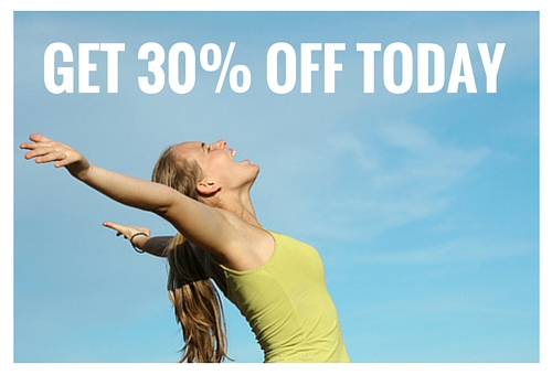 Get 30% Off Today